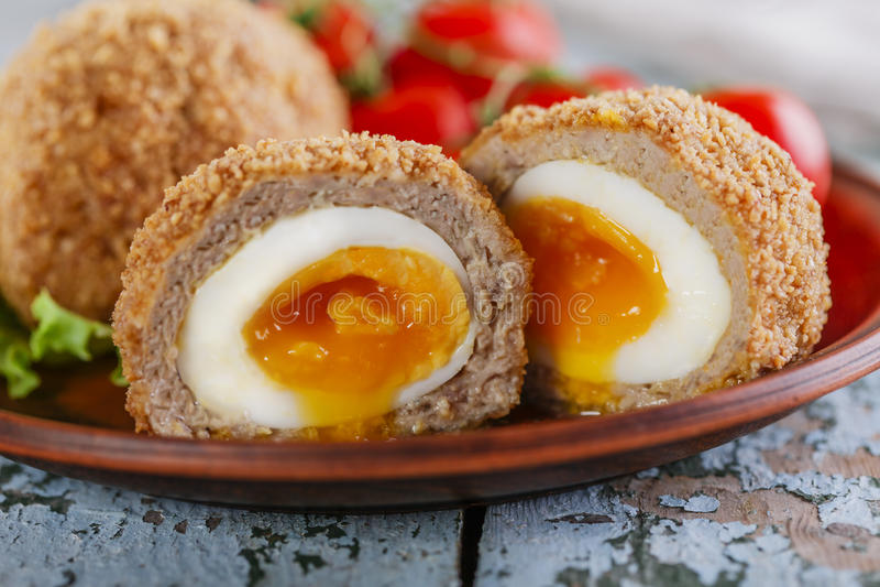 Ovos Soft-boiled fotografia de stock