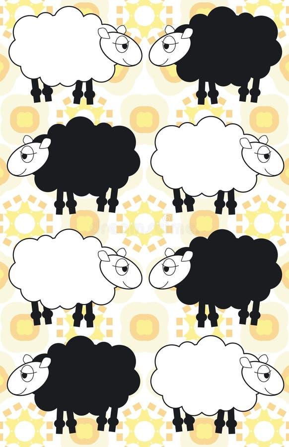 owce ilustracji