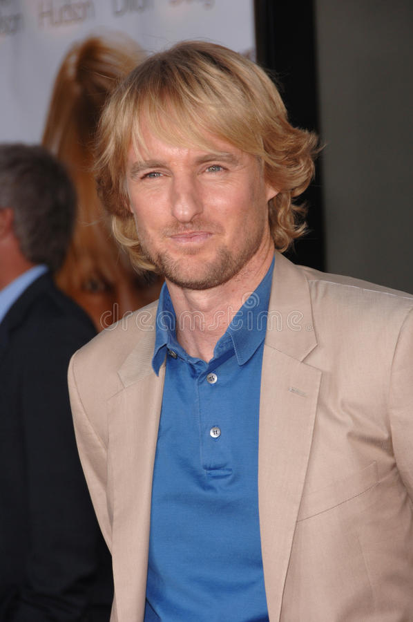 Owen Wilson fotos de stock