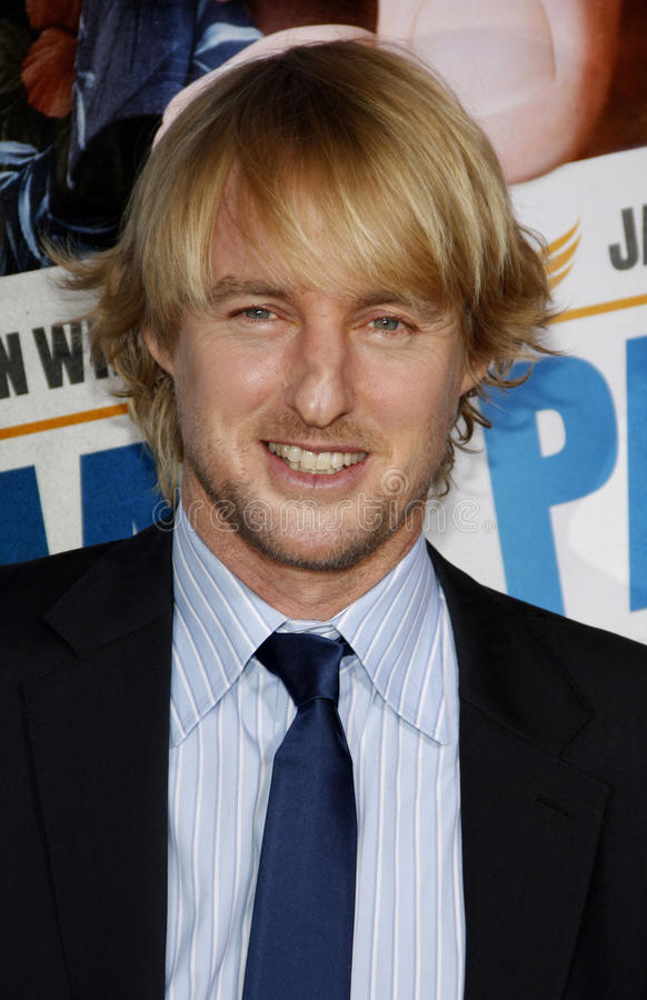 Owen Wilson photographie stock