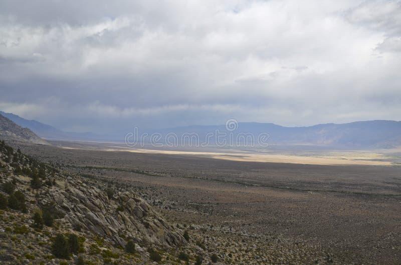 Owens dolina zdjęcia stock
