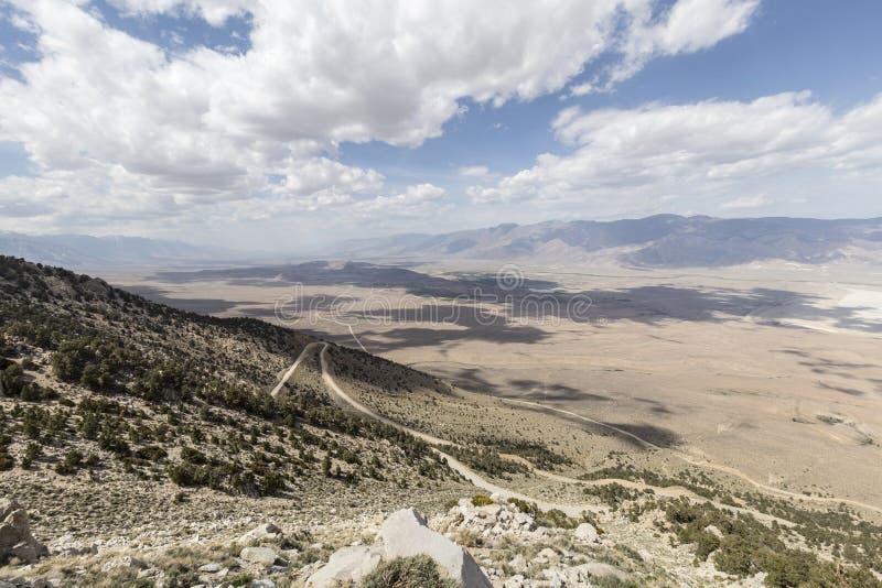 Owens dolina Kalifornia zdjęcie royalty free