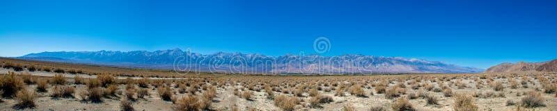Owens-Tal-Sierra Nevada Vista lizenzfreie stockbilder