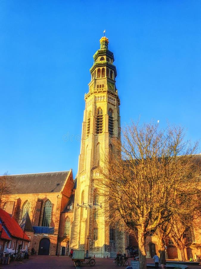 Ower του αβαείου σε Middelburg στοκ φωτογραφίες