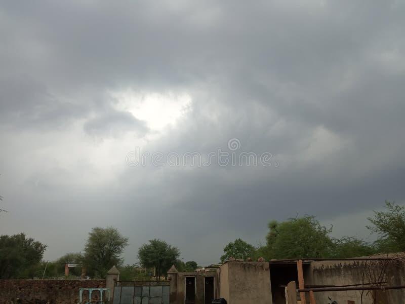 Owesome deszczu pogoda zdjęcie royalty free