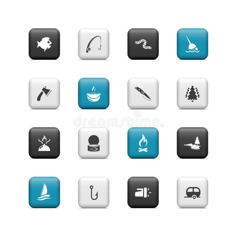 Download Łowi guziki ilustracja wektor. Ilustracja złożonej z ikona - 28970411