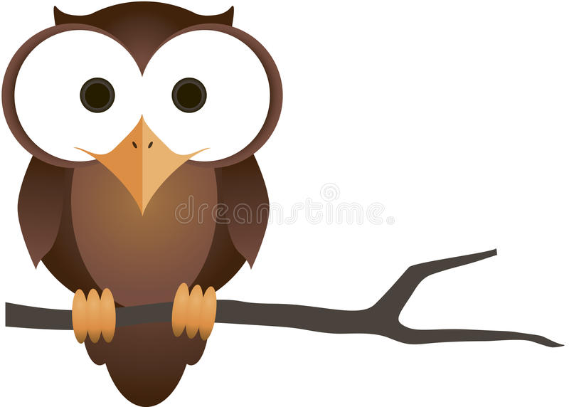 Owl. A fun little owl. Please notice there is a vector file available