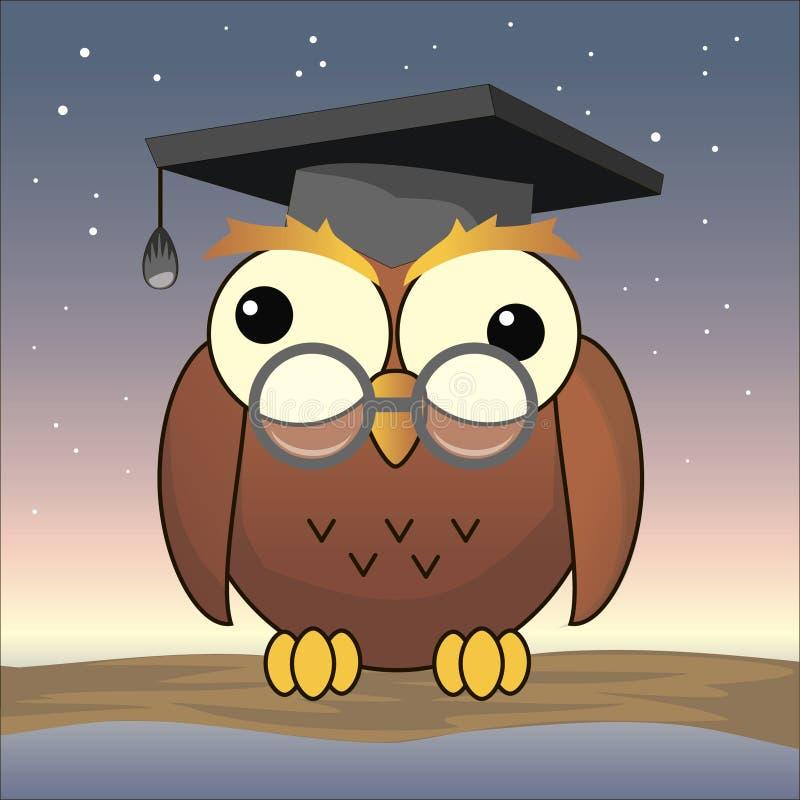 Owl royalty free illustration