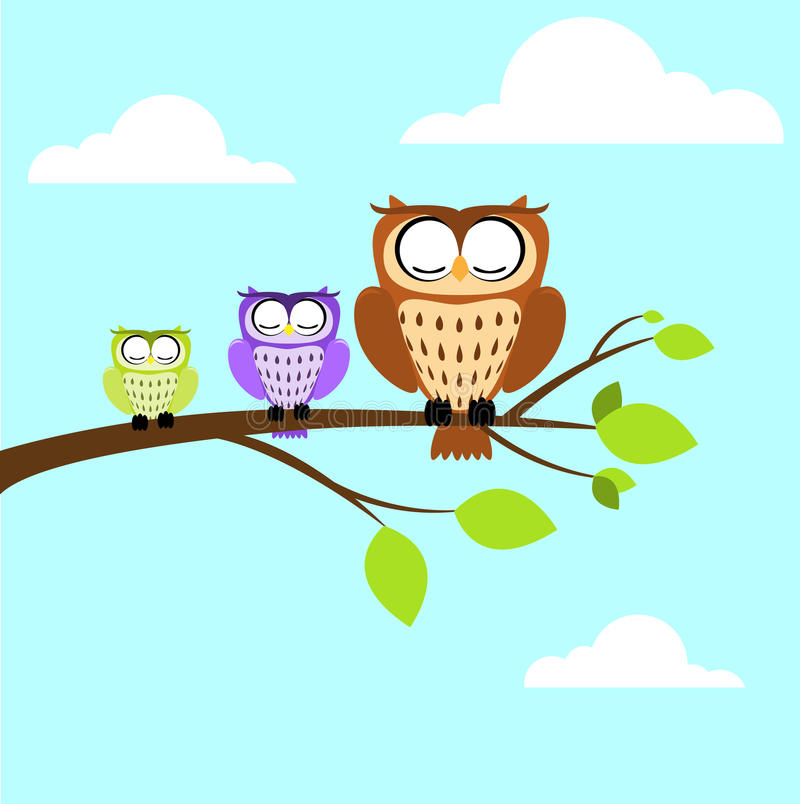 Download Owl stock vector. Image of collection, eyes, illustration - 26973054