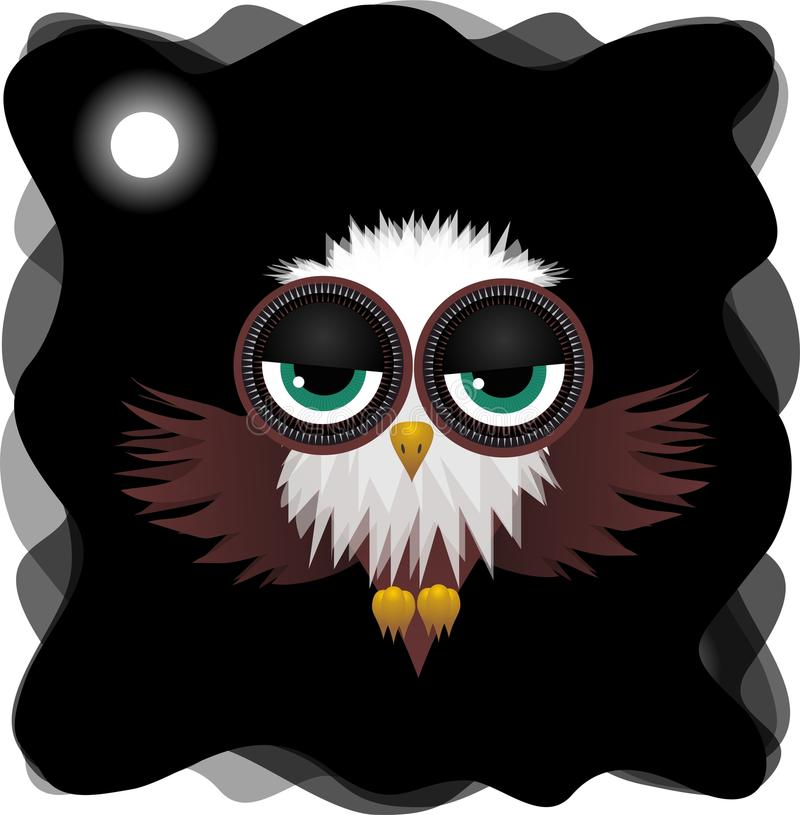owl royaltyfri illustrationer