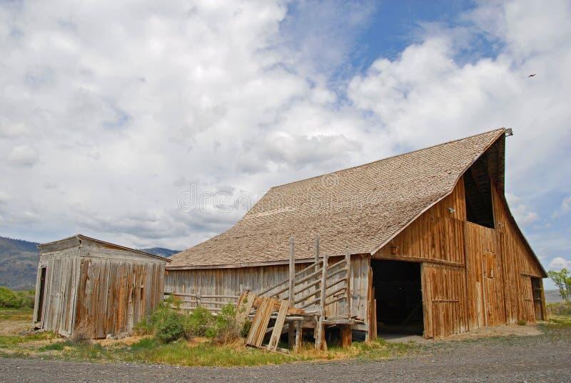 Owl Barn stock image