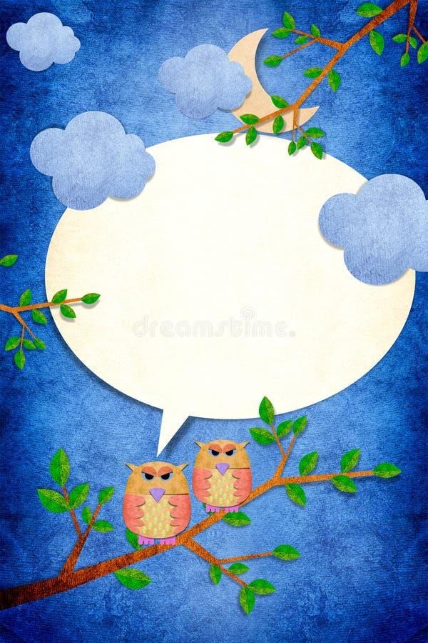 Free Owl Bird In Night Royalty Free Stock Photography - 21773037