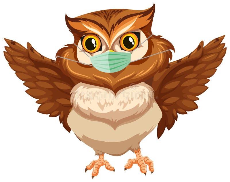 Owl Mask Stock Illustrations – 723 Owl Mask Stock ...