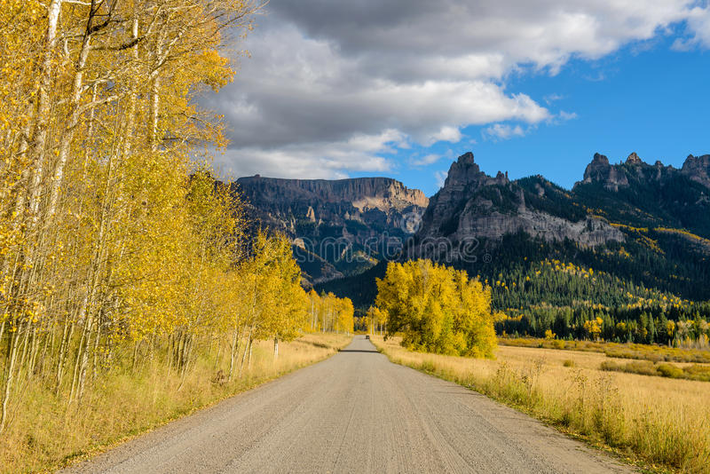 Owl Creek Pass Road photos libres de droits