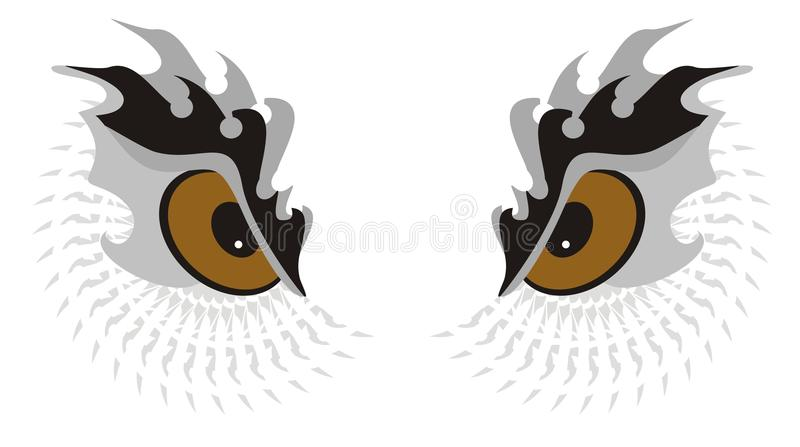 Owl Eyes Royalty Free Stock Photography