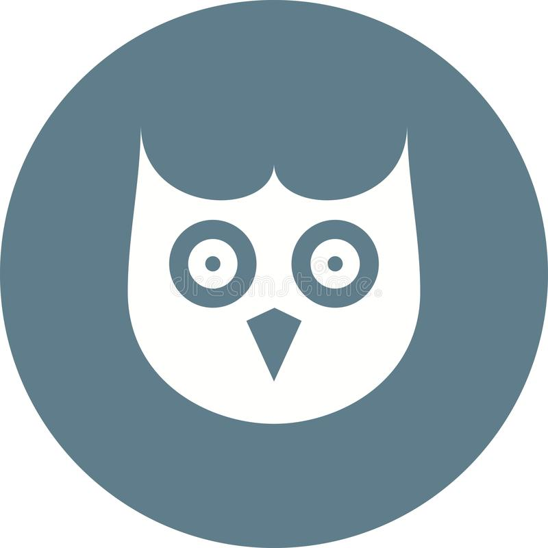 Owl Face illustration libre de droits
