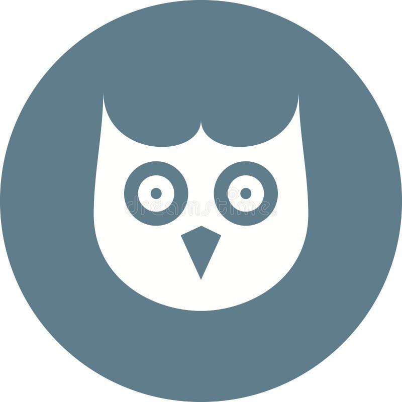 Owl Face ilustração royalty free