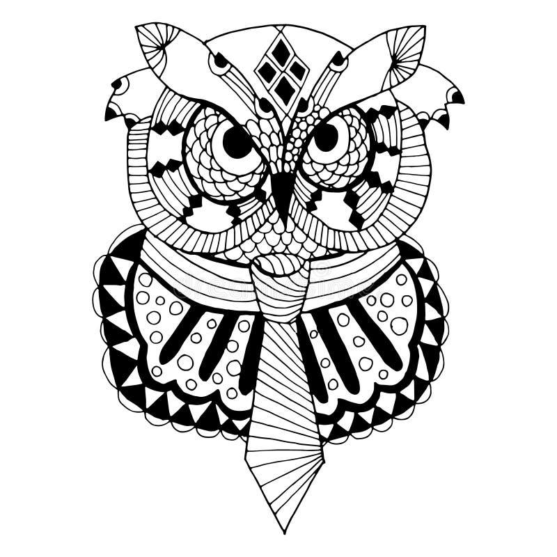 Owl Illustration stock de ilustración