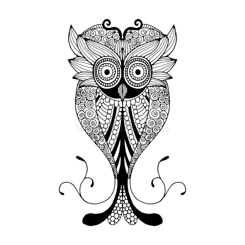 Owl Illustration ilustración del vector