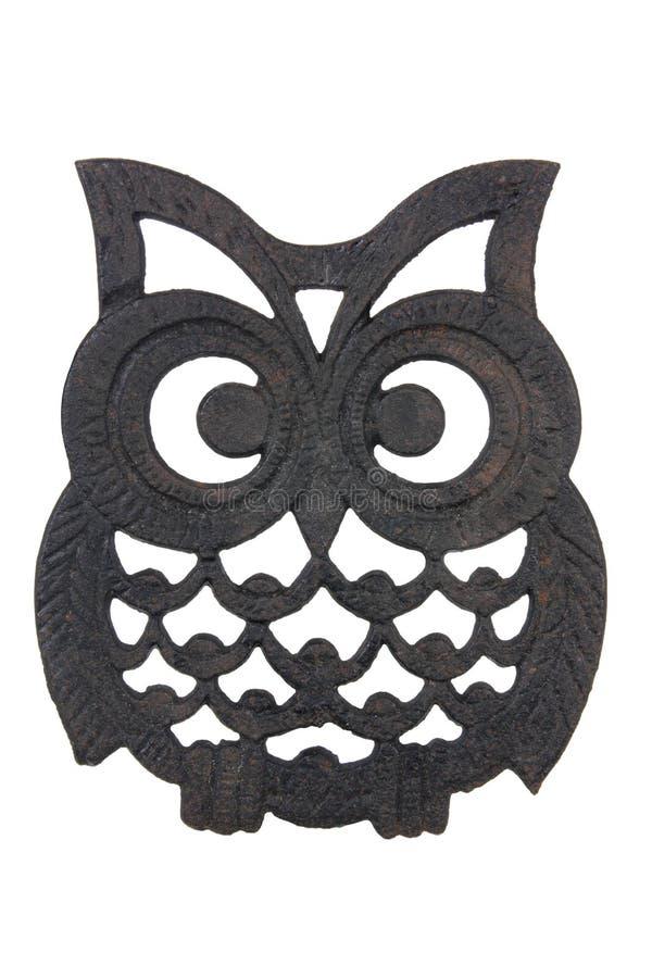 Owl Iron Rest stock fotografie