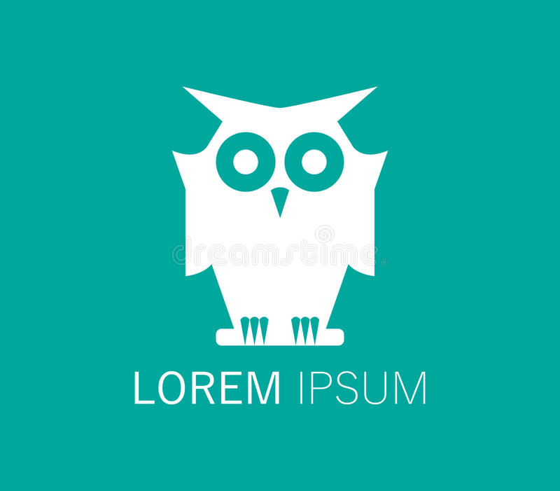 Download Owl Logo Design stock illustration. Image of modern, icon - 83706853