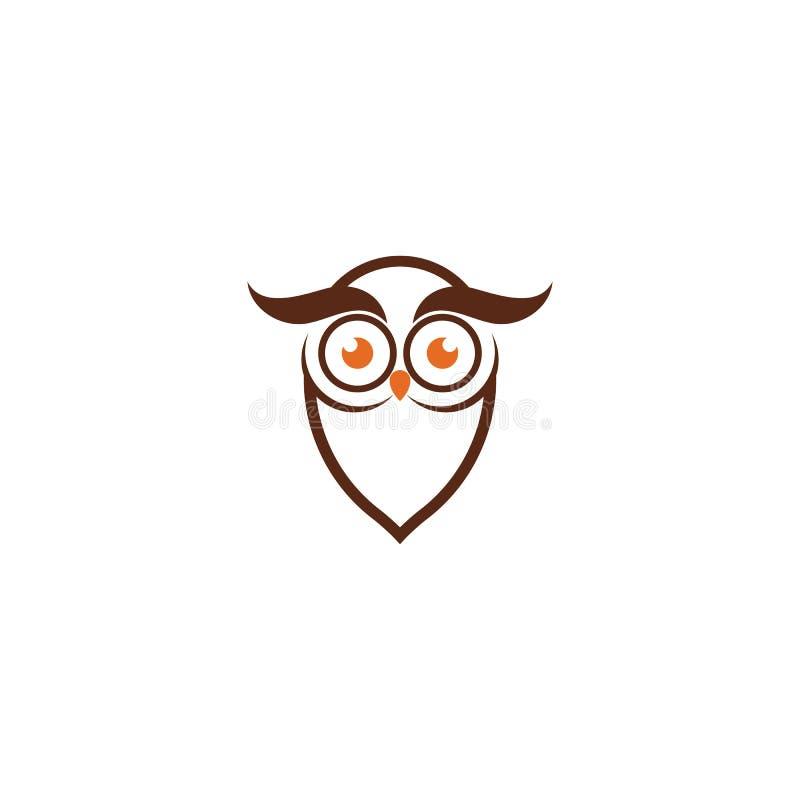 Owl Logo Template Vector. Illustration, abstract, animal, art, bird, cartoon, decoration, decorative, design, drawing, feather, graphic, isolated, mascot vector illustration