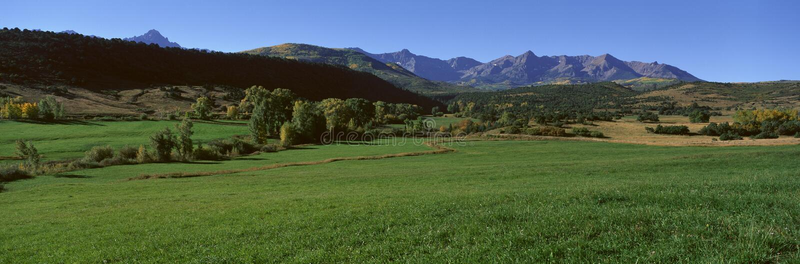 Owl Pass, Ridgeway, Colorado immagini stock