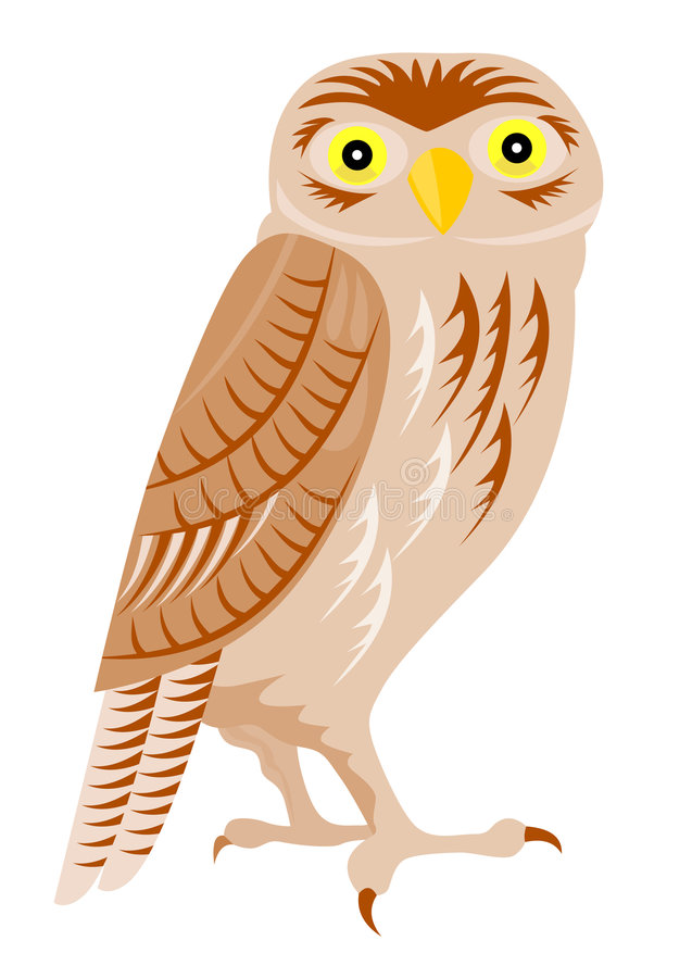 Download Owl Perched Stock Photo - Image: 4189240