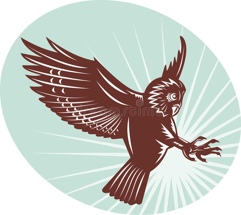 Download Owl Swooping Stock Photo - Image: 15983070