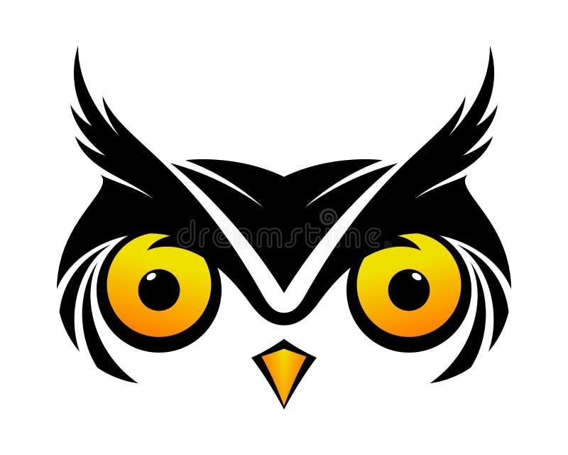 Owl Symbol frais illustration libre de droits