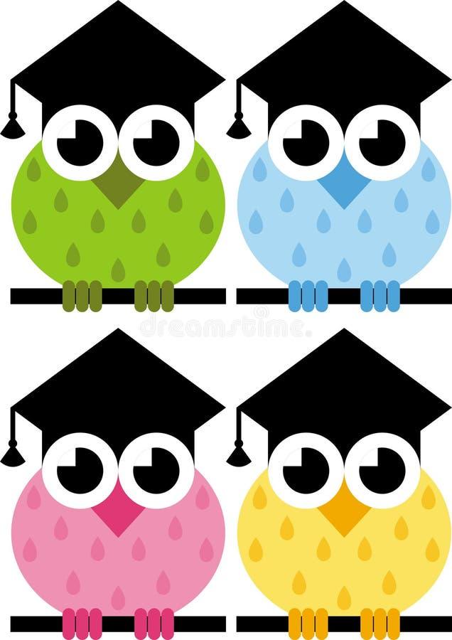 Owl Is A Symbol Of Wisdom Stock Photo