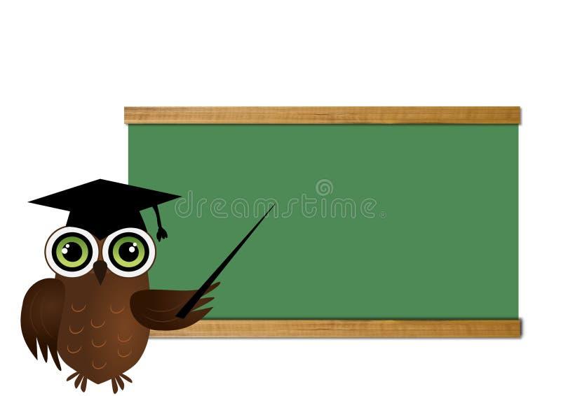 Download Owl Teacher stock illustration. Image of animal, teach - 24370417