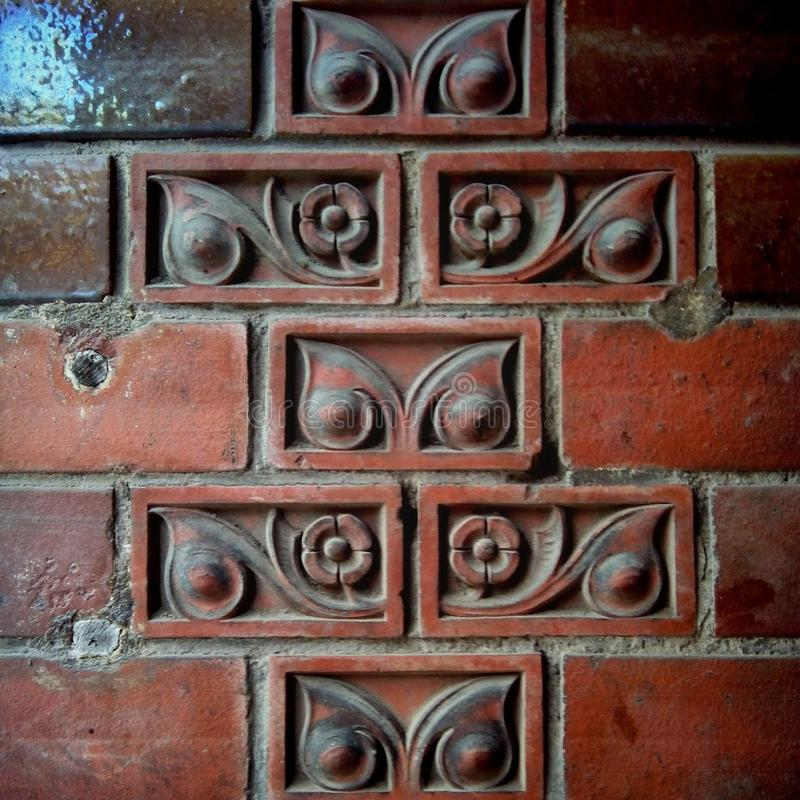Owl tile stock image