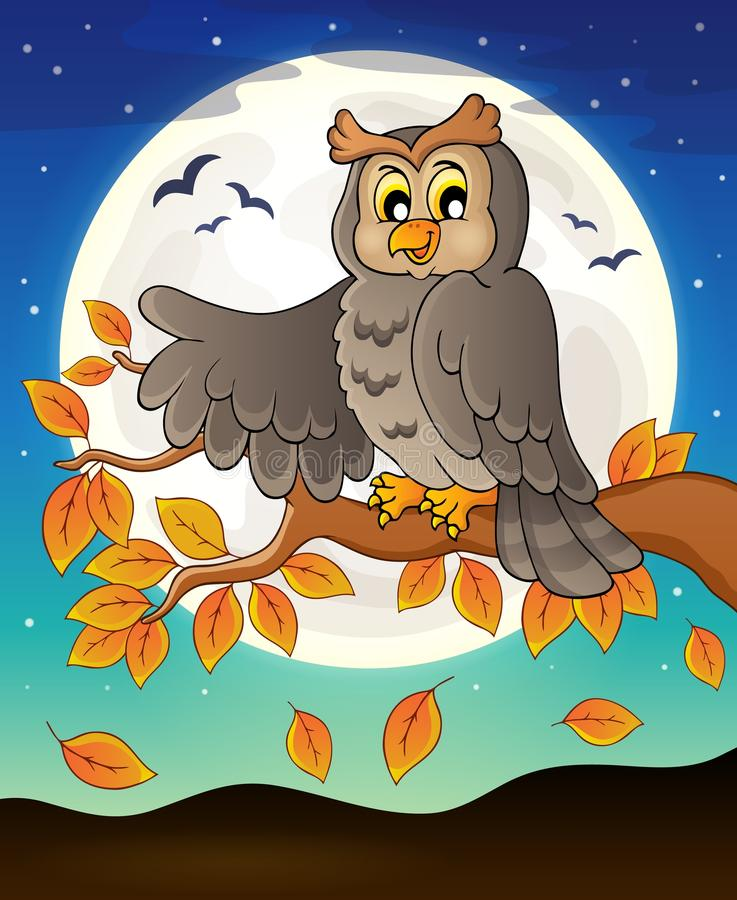 Owl topic image 7. Eps10 vector illustration vector illustration