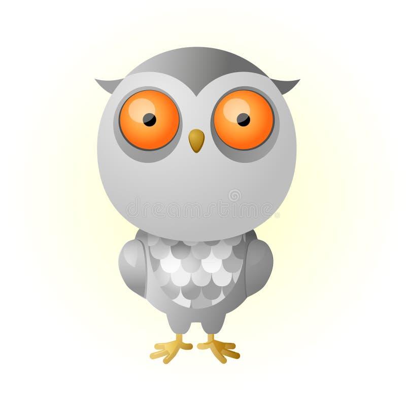 Download Owlet stock vector. Illustration of bird, baby, cute - 34298886