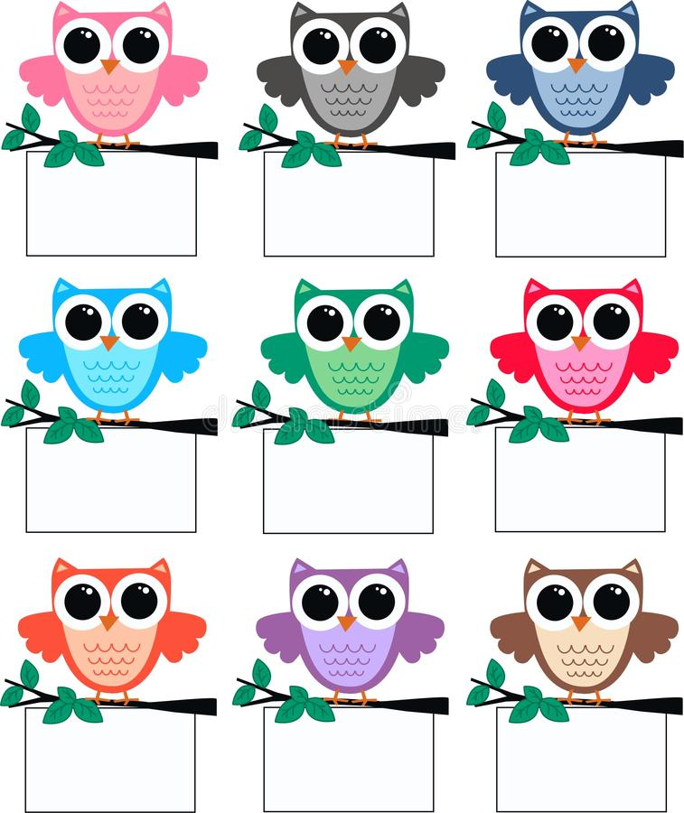 Free Owls Royalty Free Stock Image - 21334516