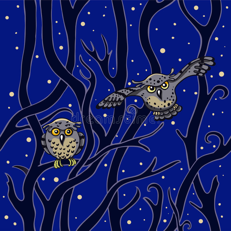 Download Owls Stock Image - Image: 27345471