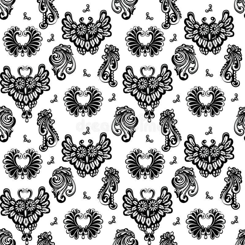 Download Owls Seamless Stock Photos - Image: 22039113