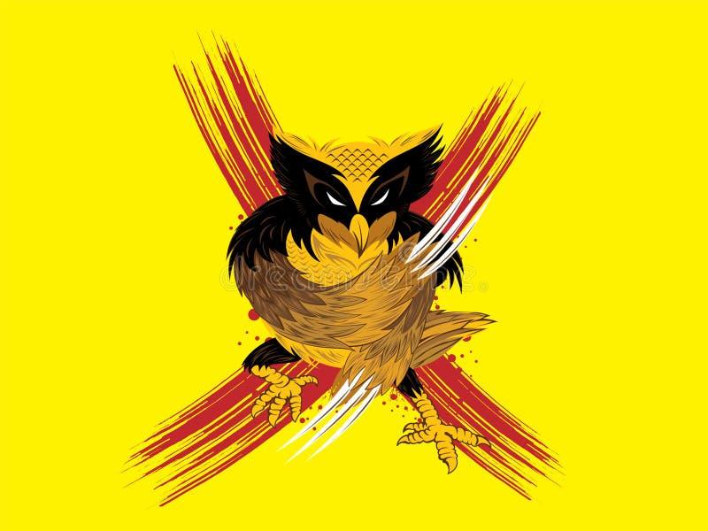 Owlverine ilustracji
