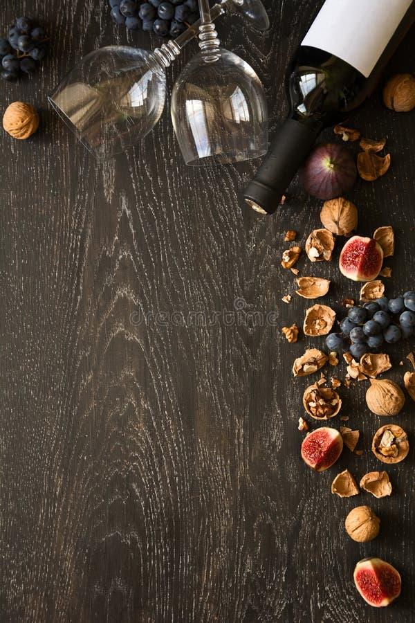 owoc życia czerwony spokojny wino zdjęcia stock