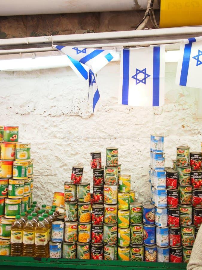 Owoc i Veg przy izraelita rynkiem zdjęcia royalty free