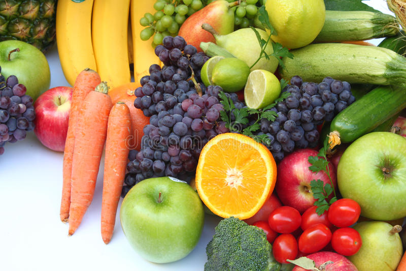 Owoc i warzywo fotografia stock