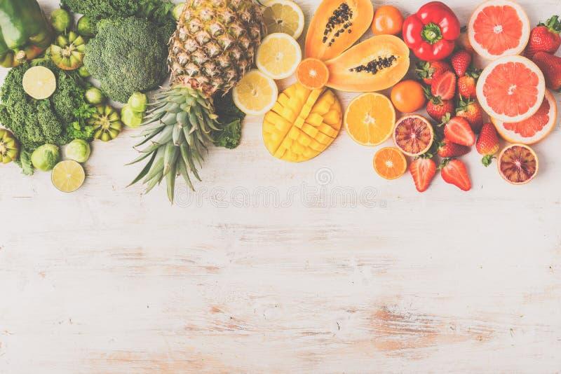 Owoc i warzywo bogaci w witaminie C obrazy royalty free