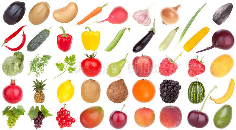 Owoc i warzywo karmowi zdjęcie stock