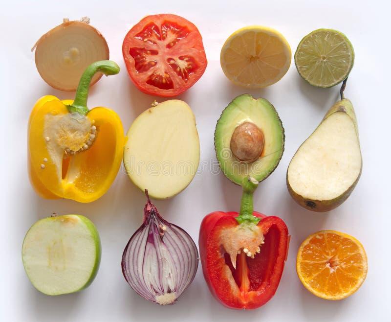Owoc i warzywo kolekcja obraz stock