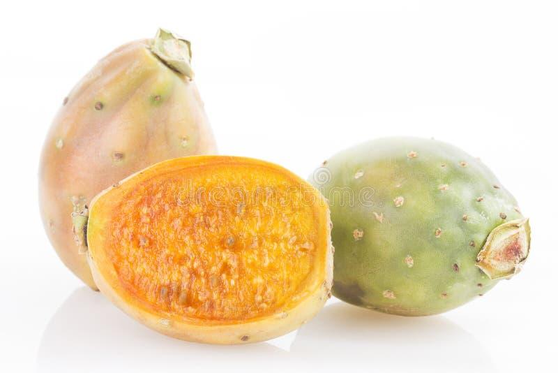 Owoc kaktus - Opuntia ficus indica obrazy stock
