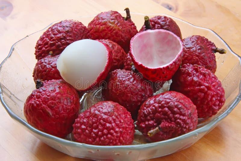 owoc lychee zdjęcie stock