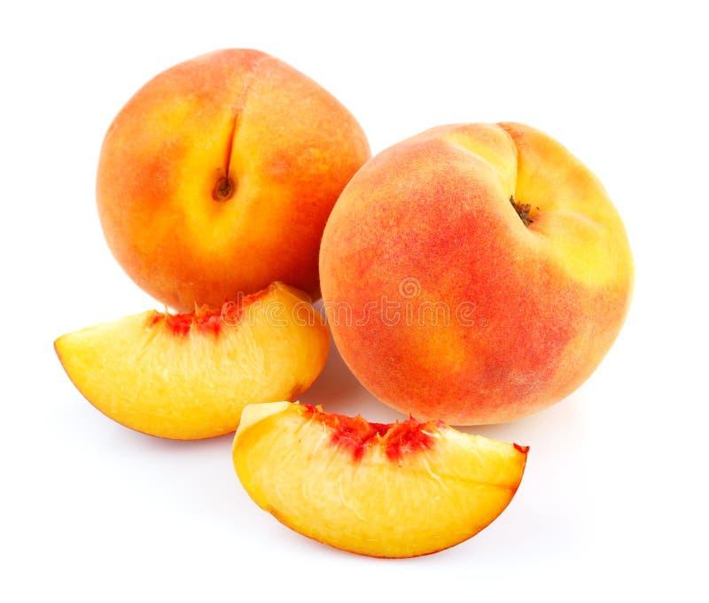 owoc rżnięta świeża brzoskwinia obrazy royalty free