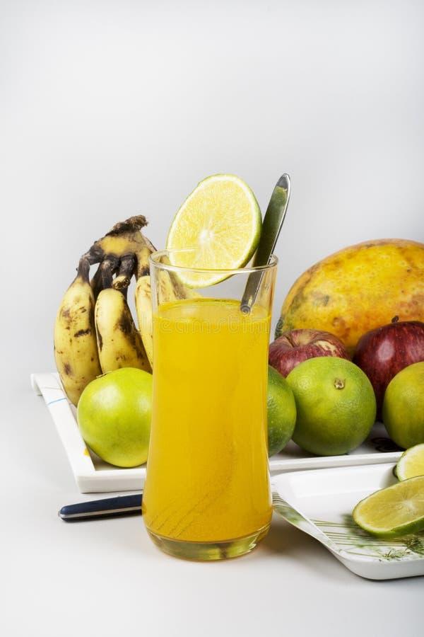 owoc szklanego soku mieszana pomarańcze zdjęcie royalty free