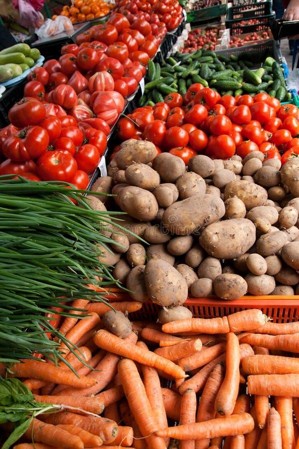 owoc wprowadzać na rynek warzywa obraz stock